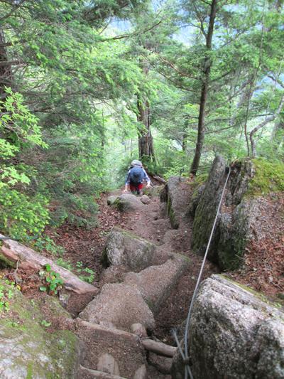 ▲空木岳(標高2864m)|長野県|2013/07/28|中央アルプス日帰り登山