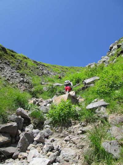 ▲焼岳(標高2455m)|長野県・岐阜県|ルートミス