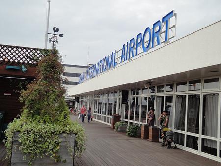 伊丹空港。