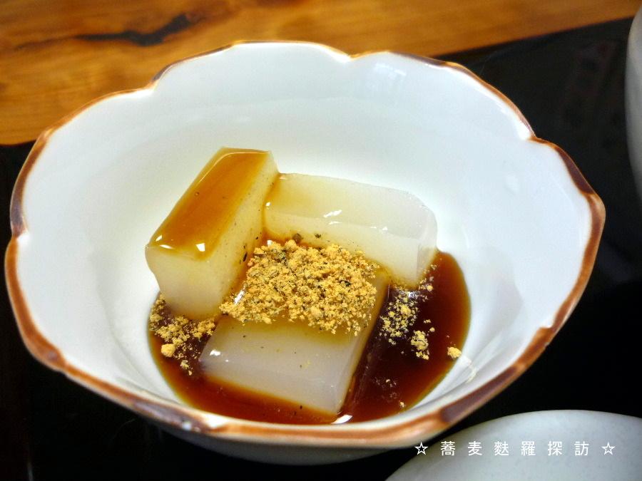 1.手打ち蕎麦 幸増 (葛餅)