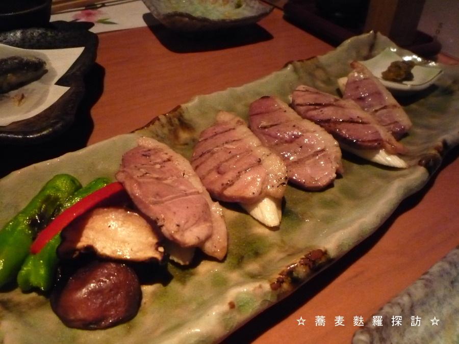 5.蕎肆 穂乃香 (鴨ロースの網焼き)