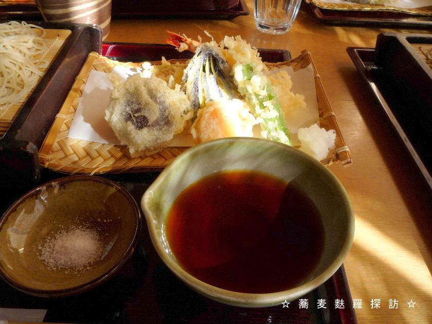 3.掛川市 蕎菜 まさ吉 (天ぷら1)