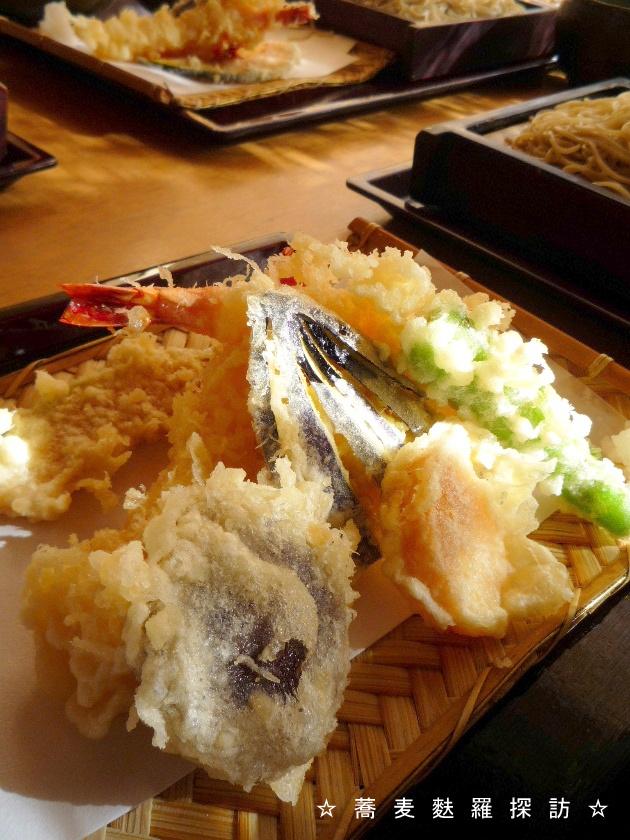 3.掛川市 蕎菜 まさ吉 (天ぷら3)