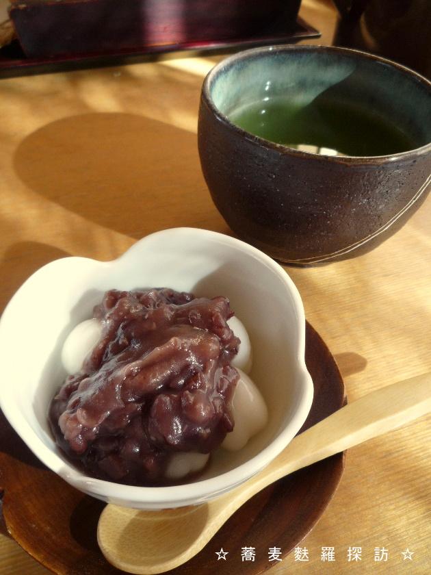 3.掛川市 蕎菜 まさ吉 (白玉ぜんざい2)