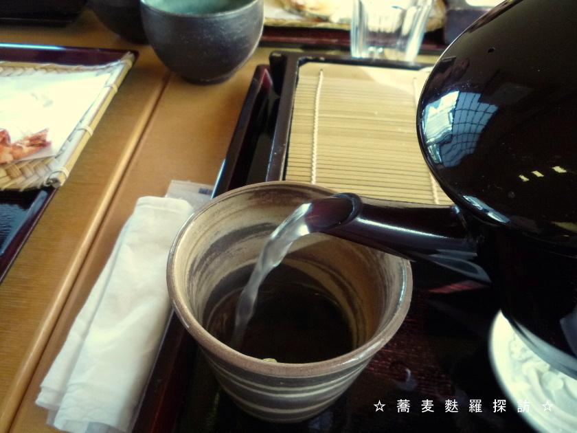 3.掛川市 蕎菜 まさ吉 (そば湯)