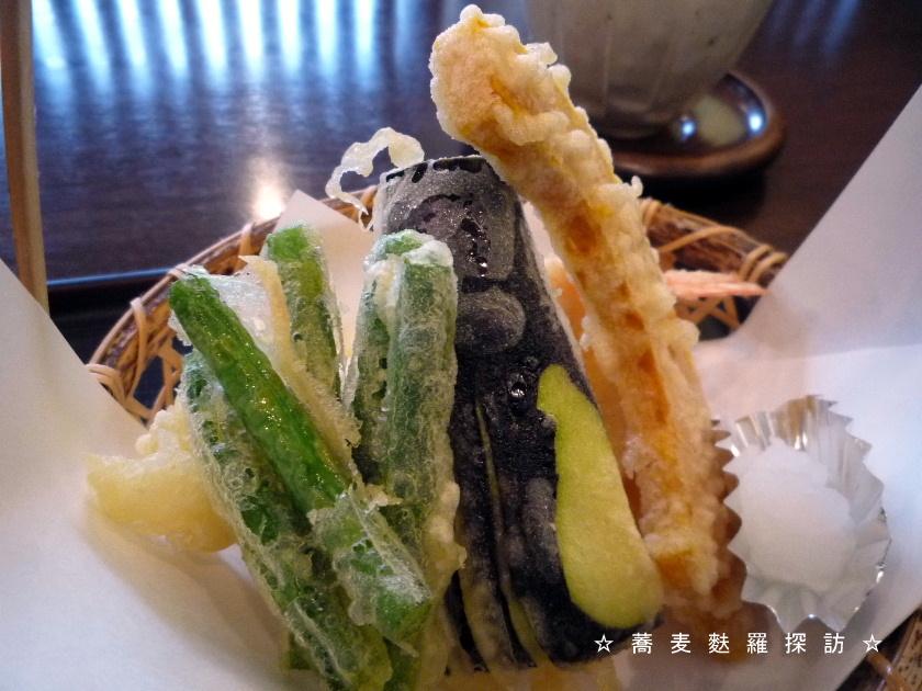 1.流山 無名庵 (天ぷらアップ)