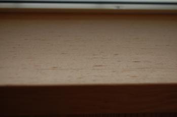 アトリエの窓枠
