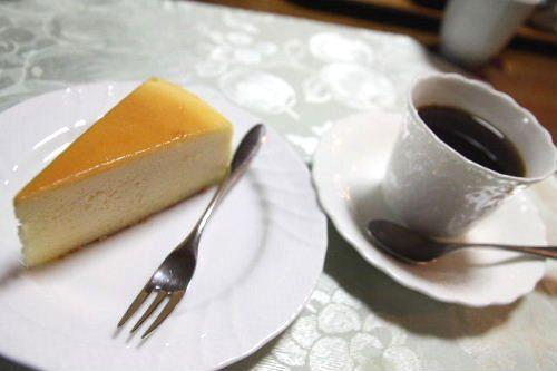 コーヒー&チーズケーキ♪
