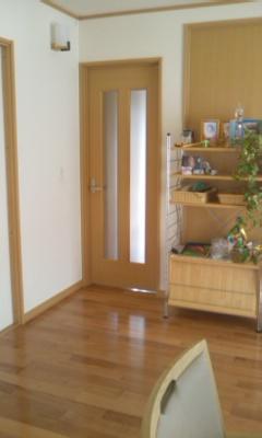 玄関からの入り口