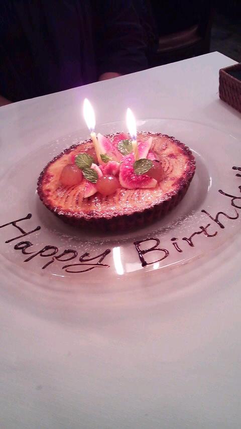 2011茂宏誕生日ケーキ