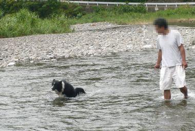 2011年7月31日セト河原にて 2