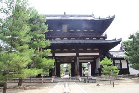 萬福寺・三門_H26.07.15撮影