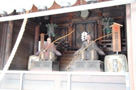 八坂神社御旅所・西殿_H26.07.16撮影