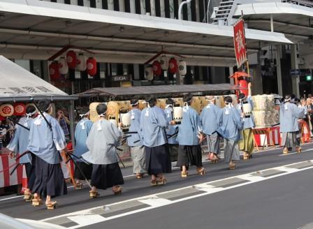 京都新選組同好会パレード_H26.07.16撮影