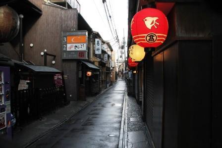 日中の先斗町_H26.12.06撮影