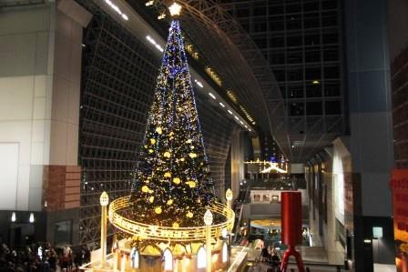 京都駅クリスマスツリー_H26.12.06撮影
