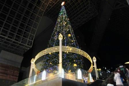 京都駅クリスマスツリー H26.12.06撮影