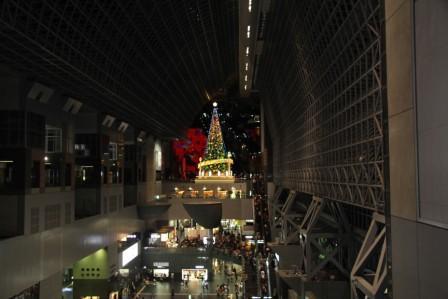 京都駅クリスマスツリー(東側から) H26.12.06撮影
