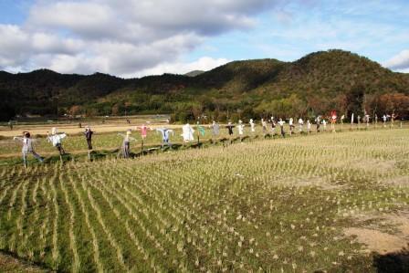冬の嵯峨野の田園_H26.12.07撮影