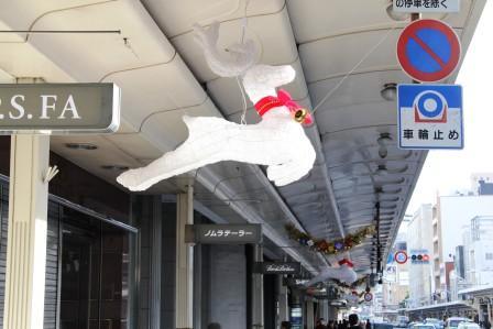 四条通りのクリスマス_H26.12.06撮影
