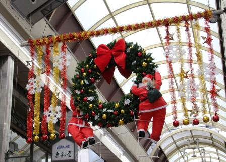 新京極のクリスマス_H26.12.06撮影