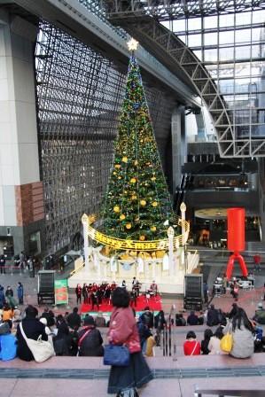 京都駅クリスマスツリー_H26.12.07撮影