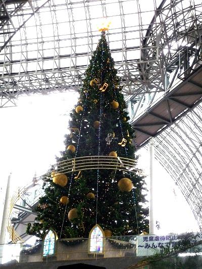 京都駅‐クリスマスツリー