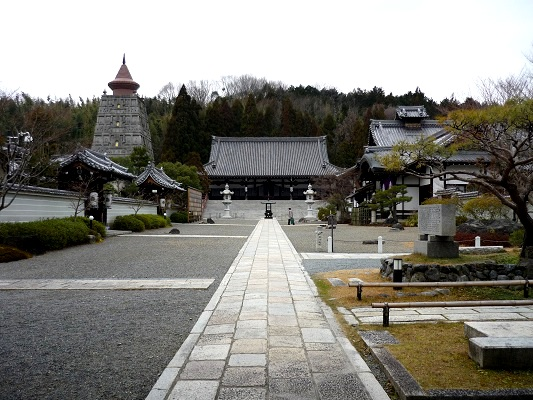 妙満寺‐参道