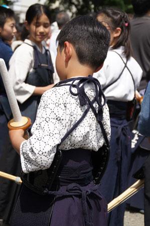 日野少年剣士