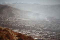 20110212ラパス市外を見下ろす・ボリビア
