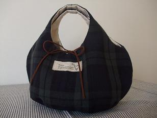 kororin bag ブラックウォッチ