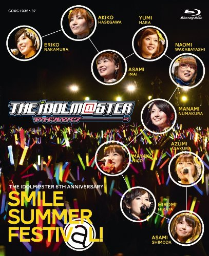 THE IDOLM@STER 6th ANNIVERSARY SMILE SUMMER FESTIV@L Blu-rayBOX