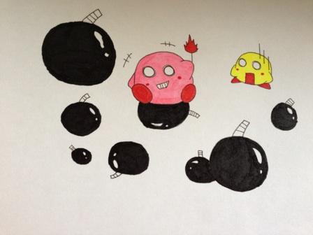 カービィ×爆弾