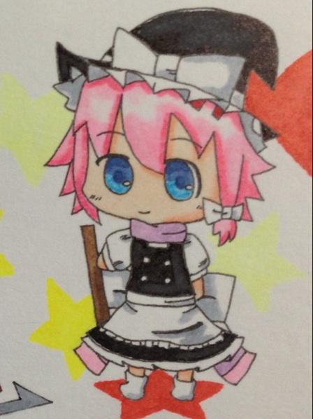 桜衣×魔理沙