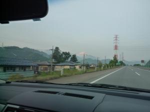 晴天富士山