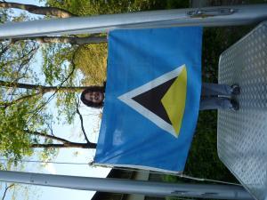 セントルシア国旗