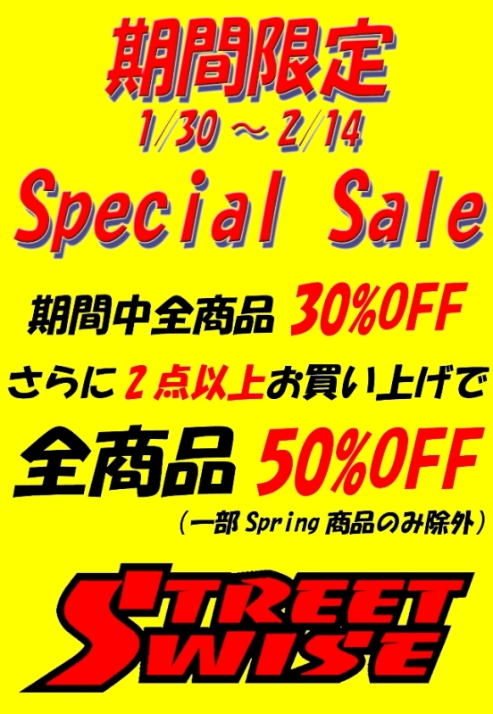 STREETWISE LRG Mishka Spring セール 50% 30%