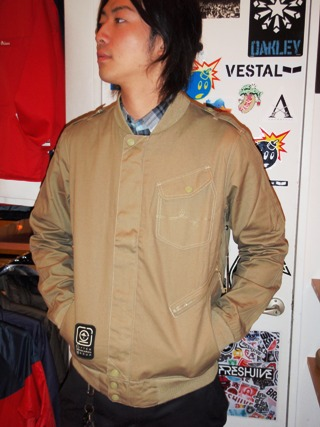 2011 Fall LRG Jacket スタジャン