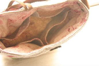 ラナンキュラスのミニバッグ