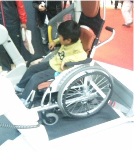 車椅子試乗