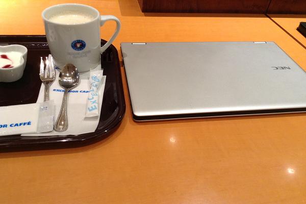 小田原のエクセルシオールカフェ