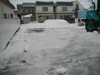 s-レジデンス山崎Ⅱ 除排雪 002