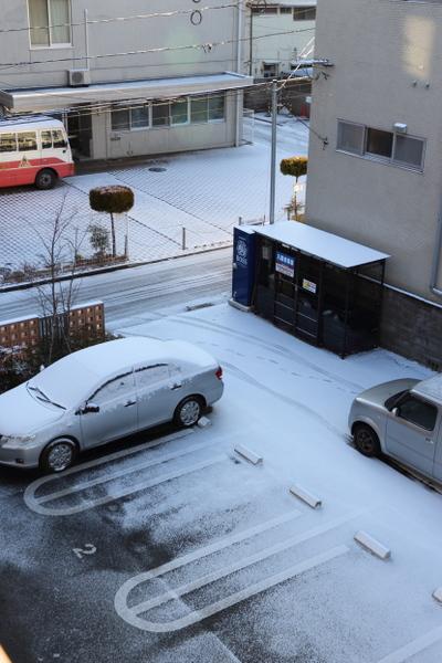 仙台・雪化粧