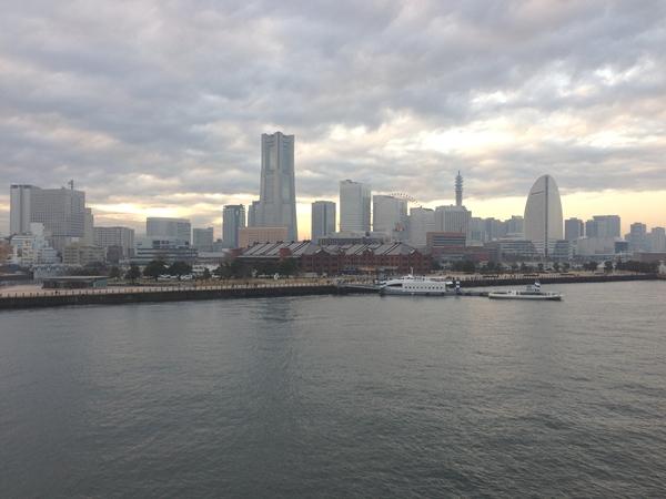 大桟橋から赤レンガ倉庫、みなとみらい