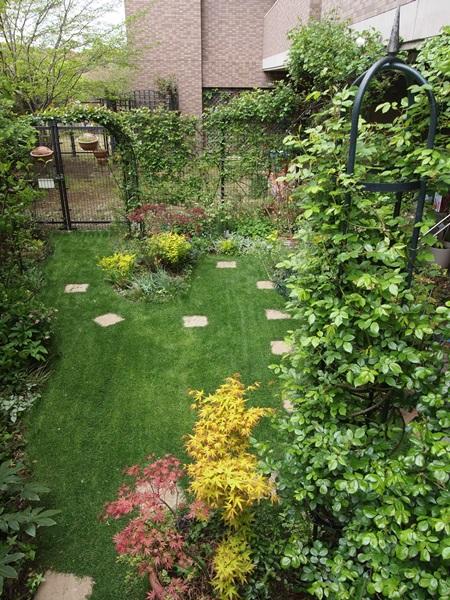 4月6日の庭