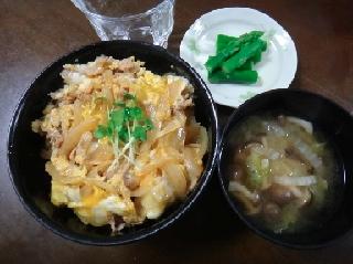 豚玉丼0601