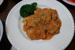 チキンのパプリカ風味煮1207