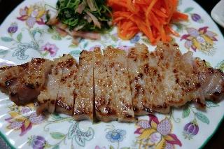 豚肉の塩麹焼き1220
