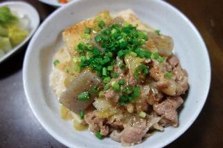豆腐の味噌煮