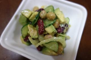アボカド豆サラダ0208